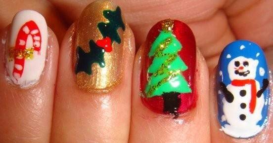 Christmas nails (23)