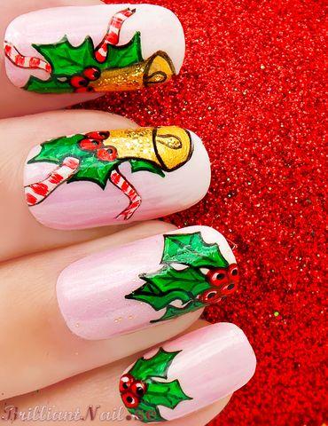 Christmas nails (24)