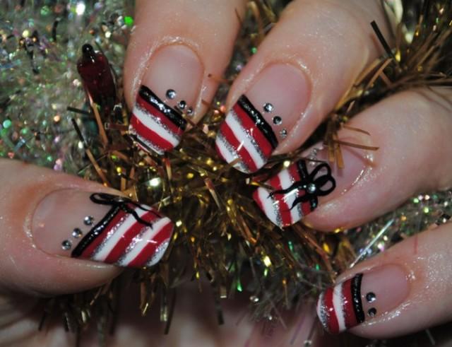 Christmas nails (8)