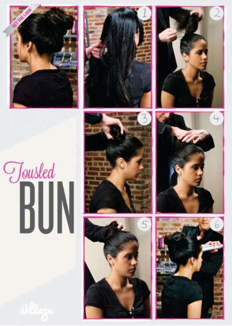 DIY-Hair-bun