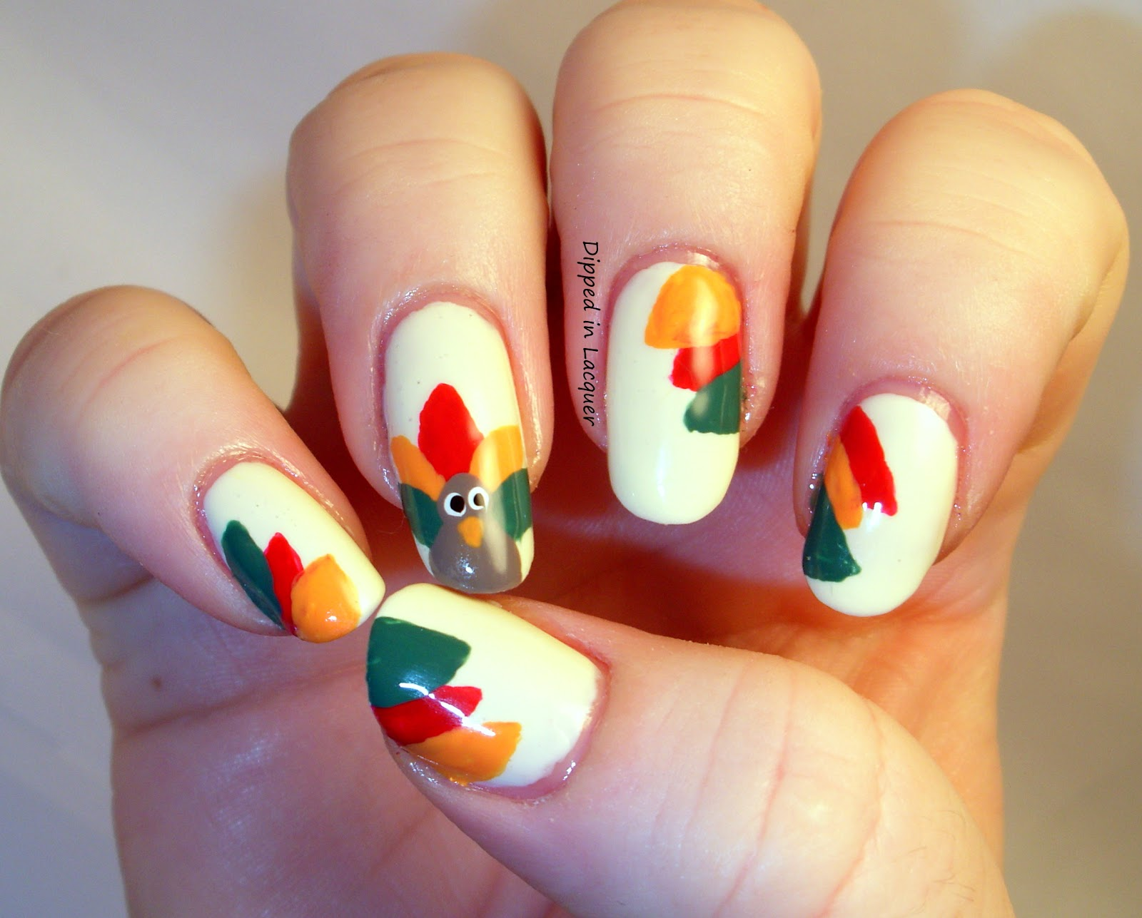 Festive thanksgiving nail designs from mane n tail photo courtesy of fashiondivadesign prinsesfo Images