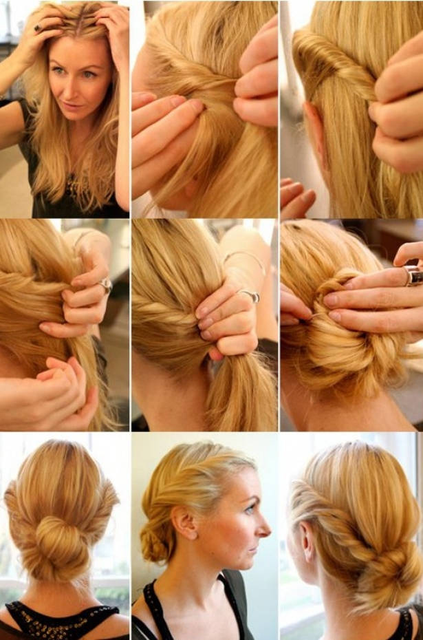 Lovely hairstyle tutorials Diy fashion of hairstyle