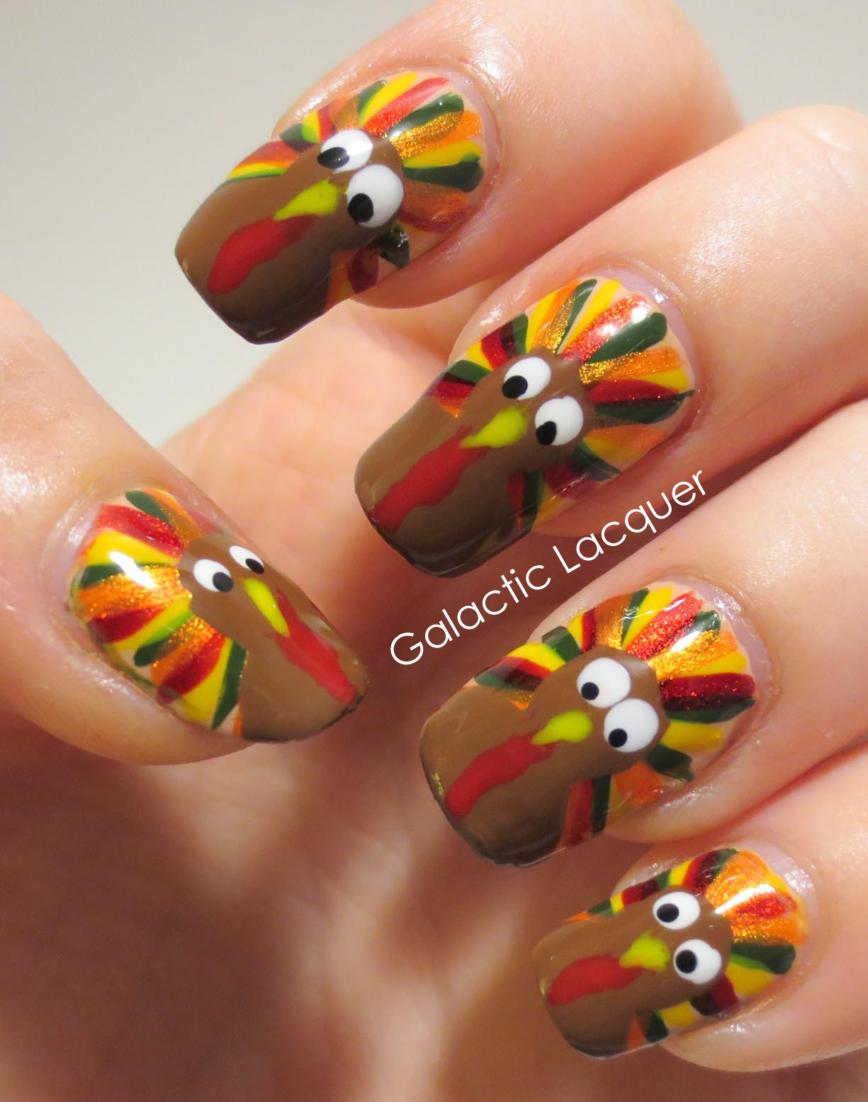 18 Thanksgiving Nail Art Ideas
