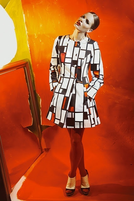 fashion inspired by kandinsky