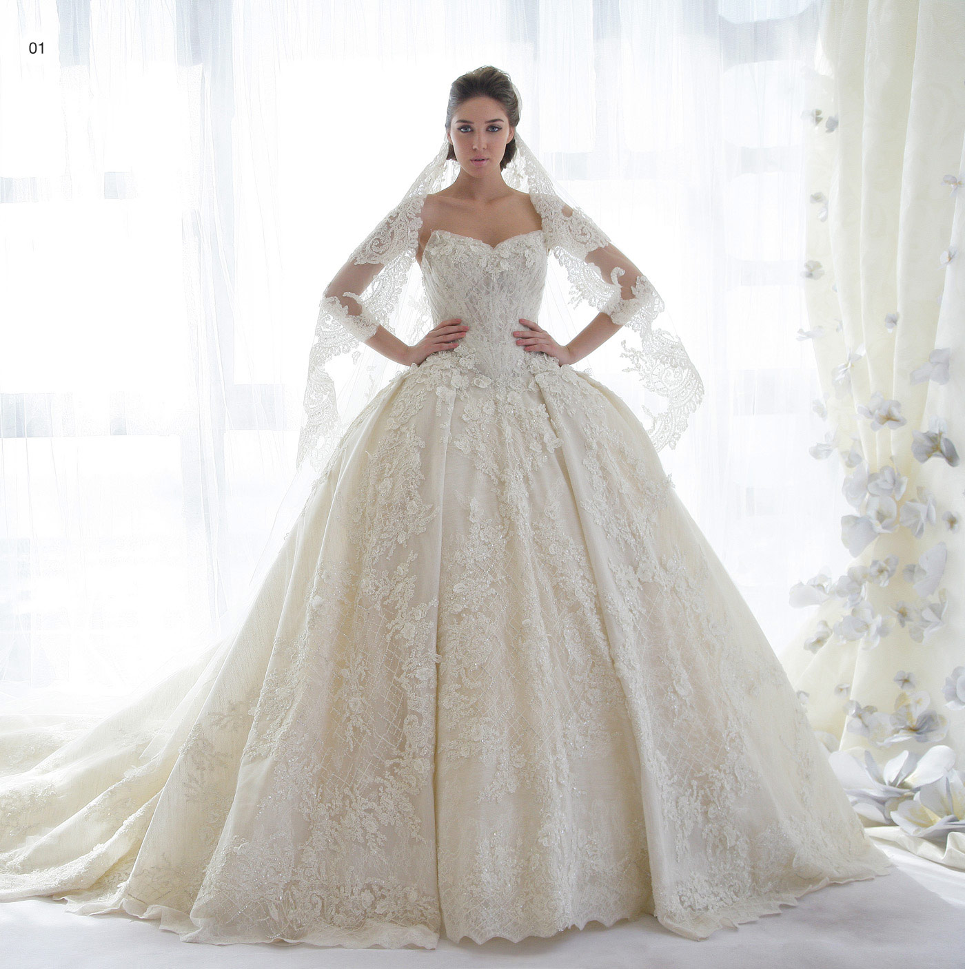 Stunning Wedding Dress: Stunning Bridal Collection By ZIAD NAKAD