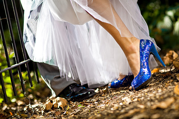 Something Blue: Wedding Shoes