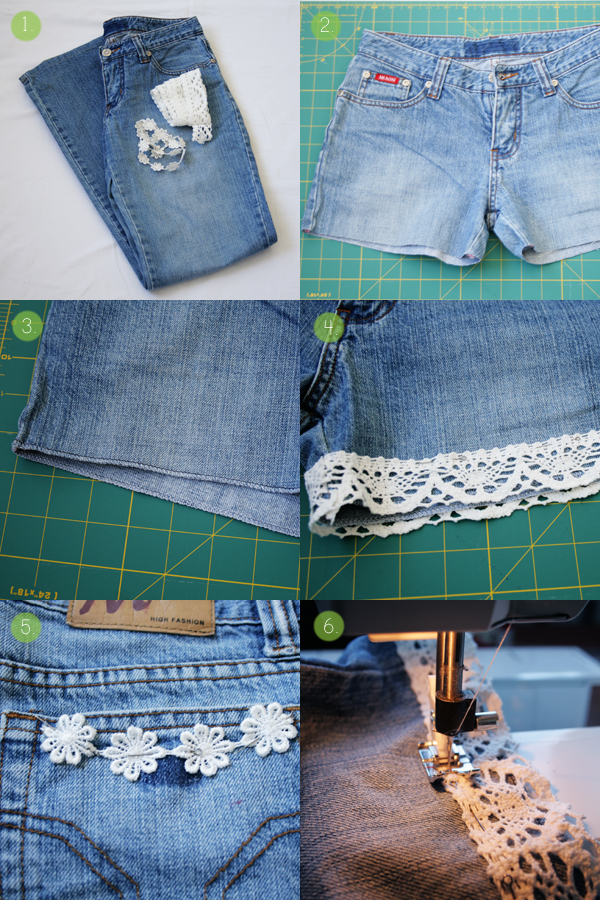 cut-off shorts tutorial