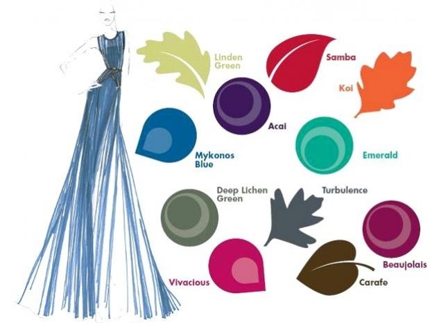 fall 2013 color trends via pantone