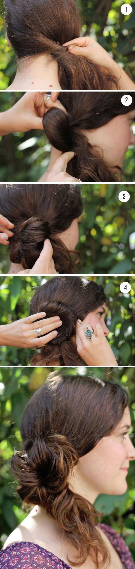 messy-side-bun-ponytail