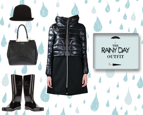 17 Rainy Polyvore Combinations