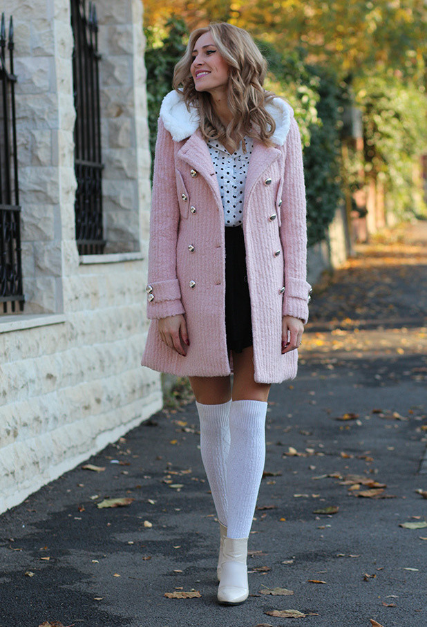 15 Ways To Wear Pink In Winter