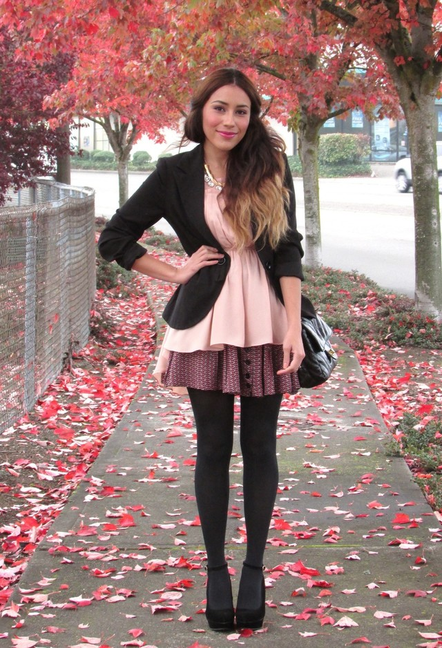 15 Ways To Wear Pink In Winter