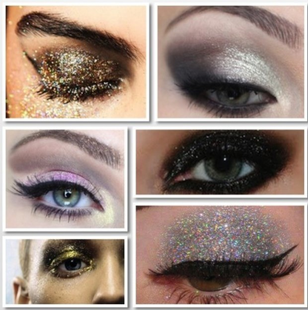 Getting Ready – New Year's Makeup