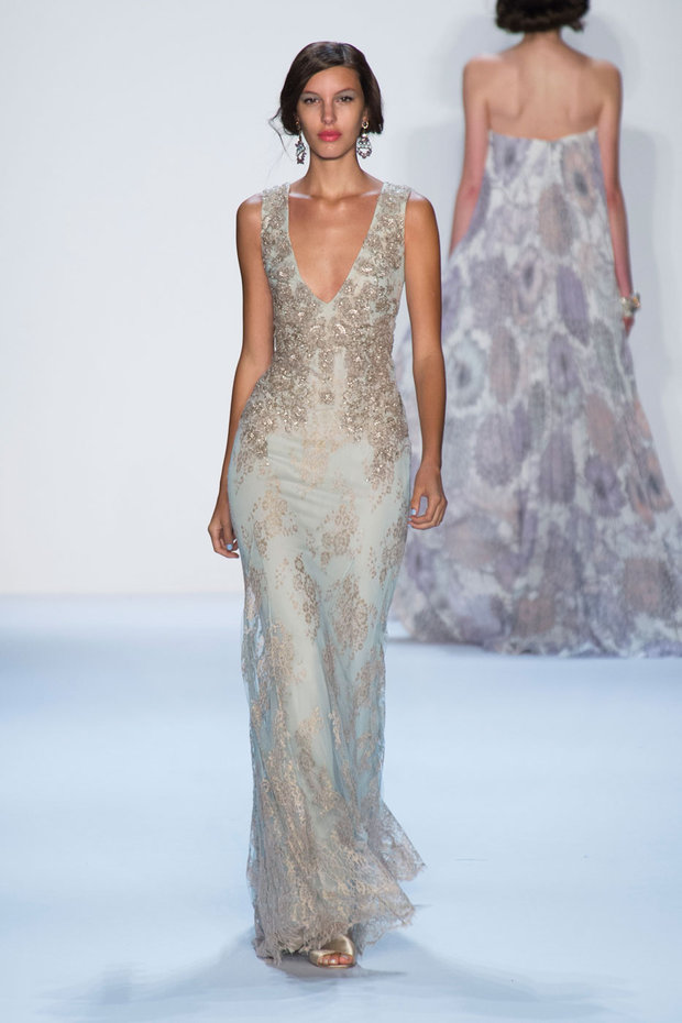 Badgley Mischka READY-TO-WEAR SS 2014