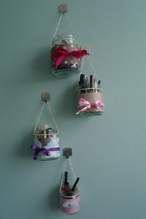 7 DIY Make up Storage Ideas