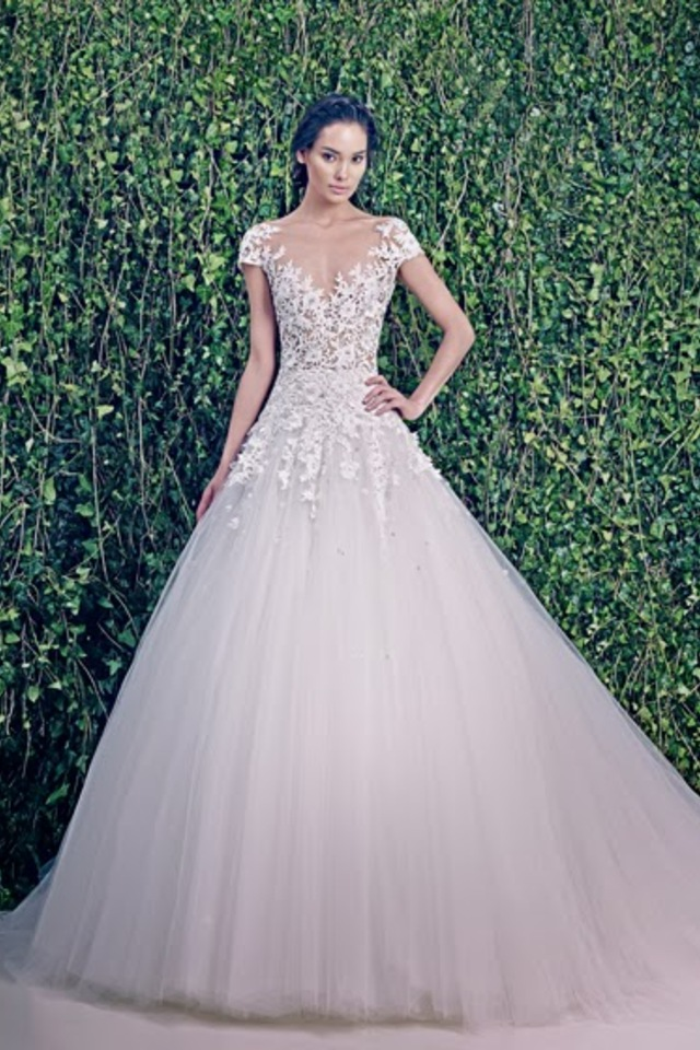Wedding dresses zuhair murad bridal fall 2014 for Zuhair murad wedding dress