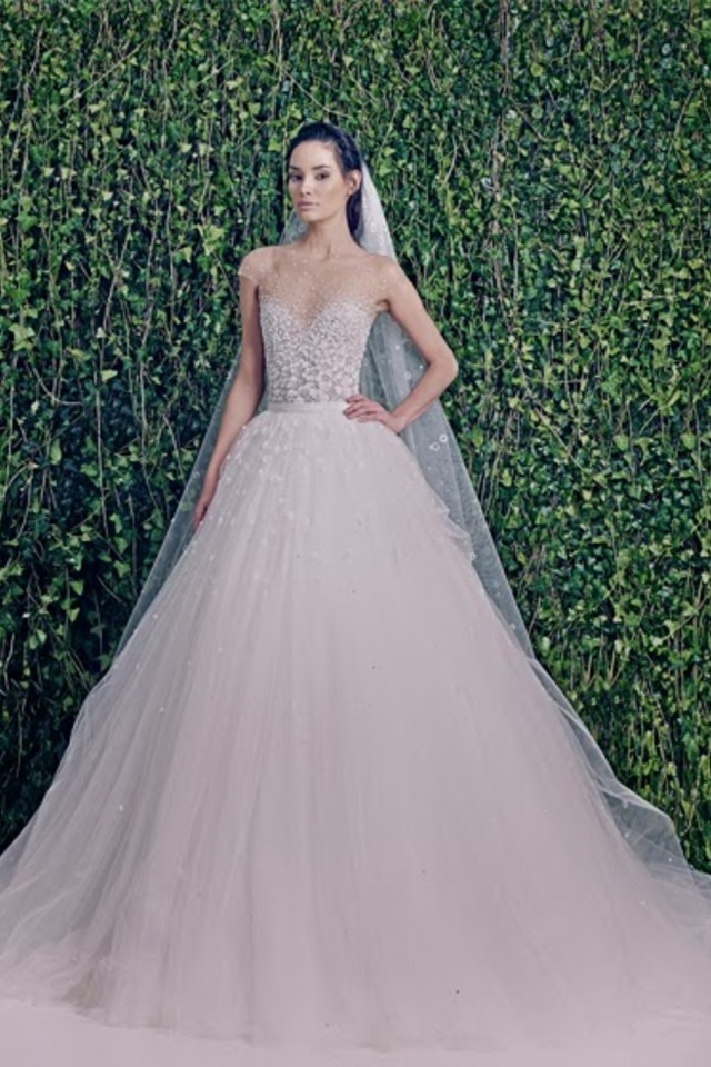 Wedding dresses zuhair murad bridal fall 2014 for Zuhair murad wedding dresses prices