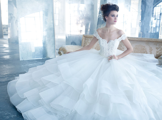 Stunning Wedding Dresses by Lazaro