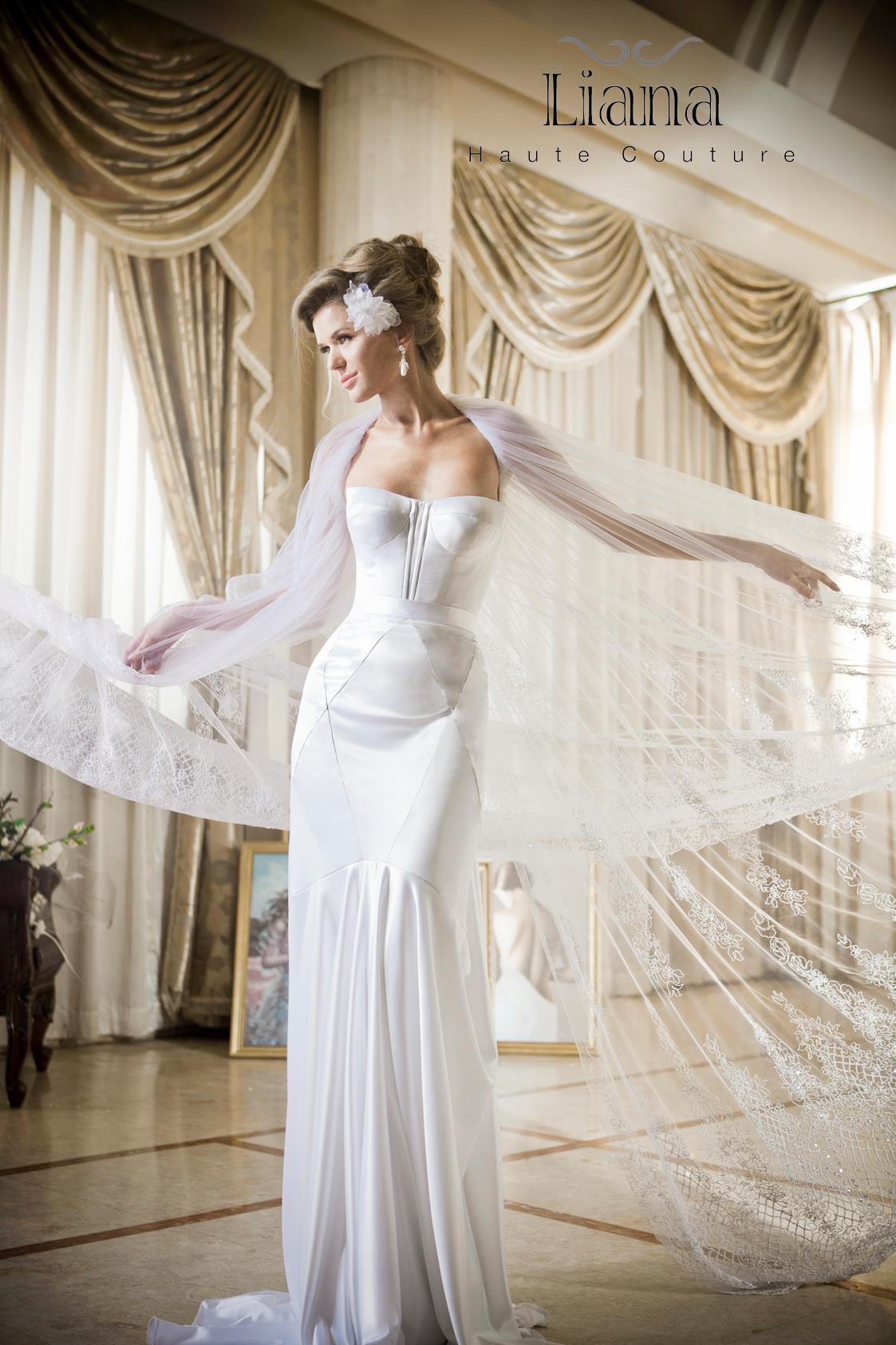 Liana haute couture bridal 2013 2014 for Haute wedding