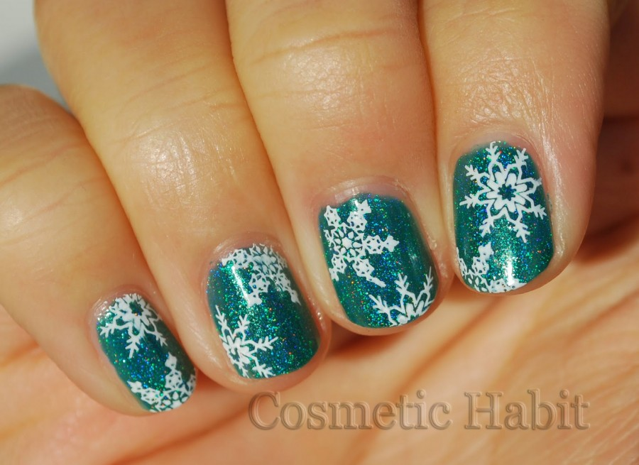 Let It Snow On Your Nails - 20 Snowflake Nail Arts