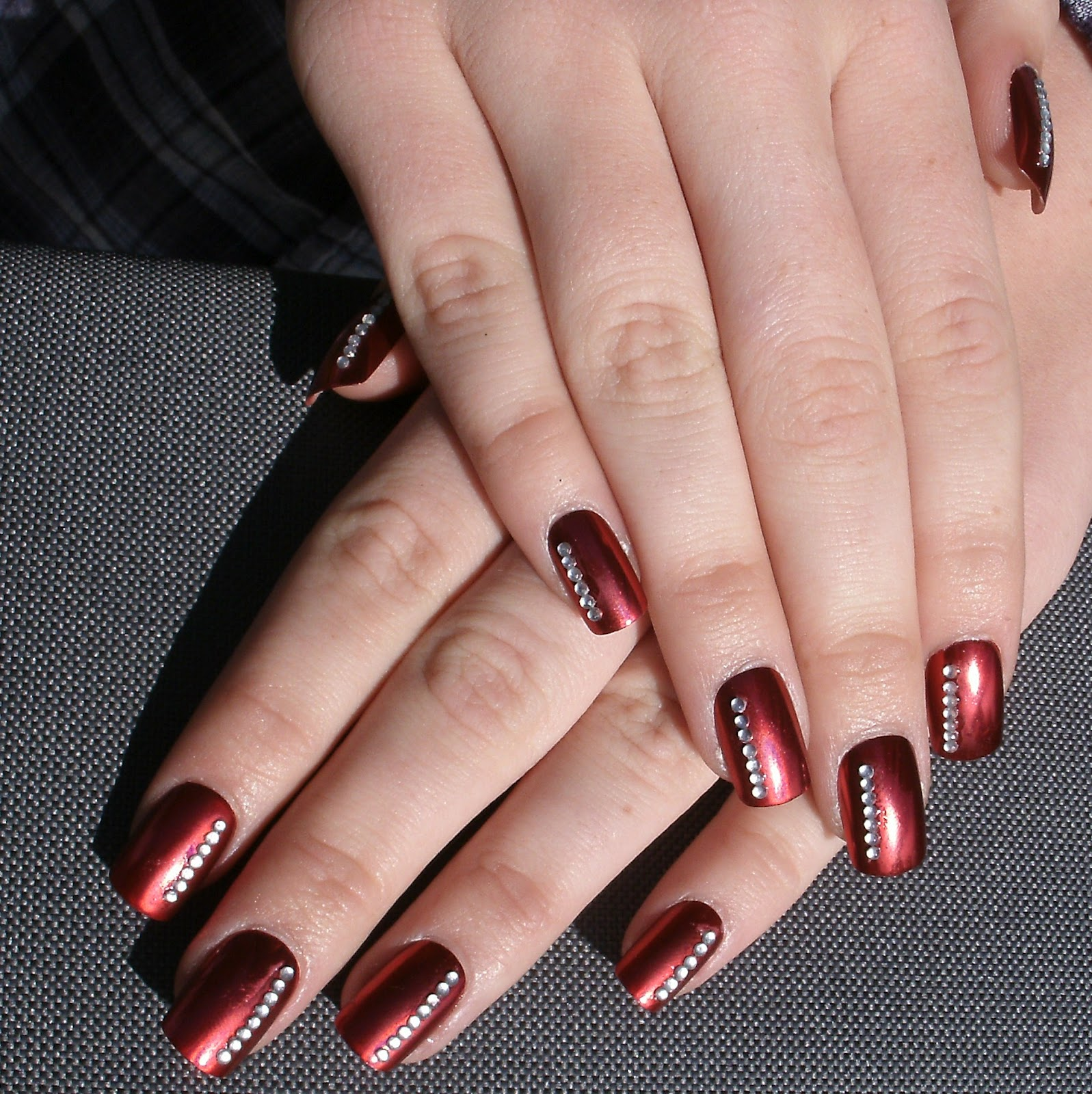 2013 Prom Nail Design Ideas: 20 Burgundy Nail Designs