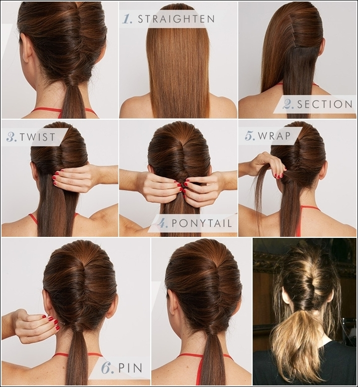 Stupendous 15 Cute And Easy Ponytails Short Hairstyles Gunalazisus