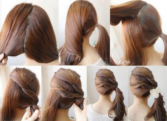 Cool 15 Cute And Easy Ponytails Short Hairstyles Gunalazisus