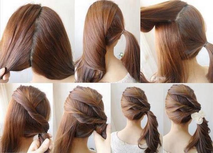 Enjoyable 15 Cute And Easy Ponytails Short Hairstyles Gunalazisus