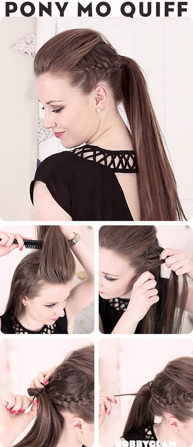 Wondrous 15 Cute And Easy Ponytails Short Hairstyles Gunalazisus