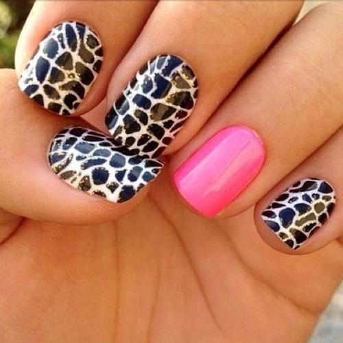 Fashionable Animal Print Nail Art Designs - Fashion Diva Design