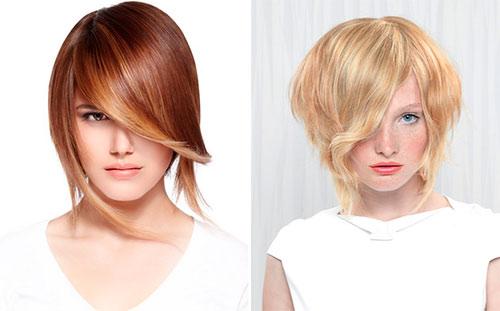 Wondrous Fancy Asymmetrical Bob Haircuts Hairstyles For Women Draintrainus