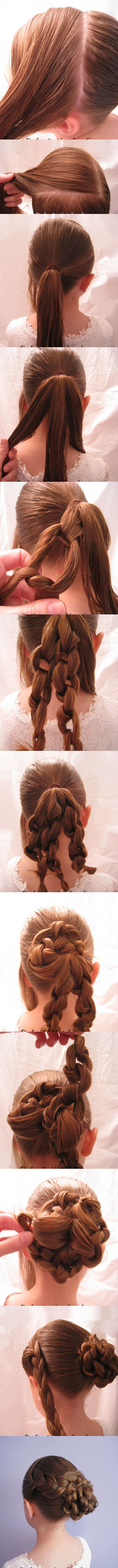 Magnificent Super Easy Knotted Bun Updo And Simple Bun Hairstyle Tutorials Short Hairstyles Gunalazisus