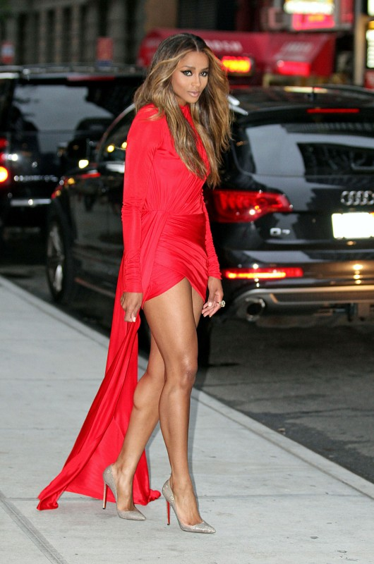 Ciara-Red-Alexandre-Vauthier-Asymmetrical-dress-530x800