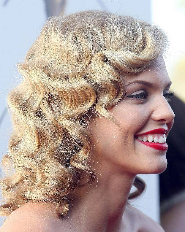 Curly Medium Hairstyles 8