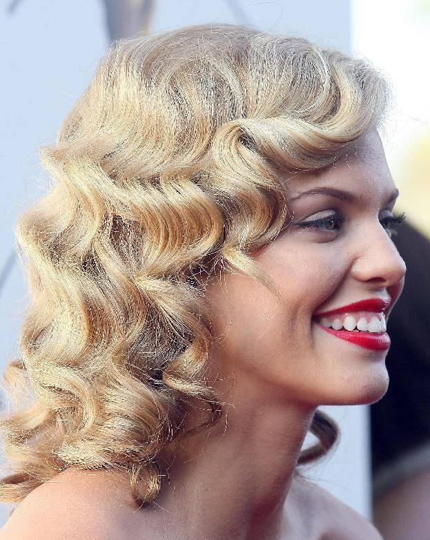 Curly Medium Hairstyles 8