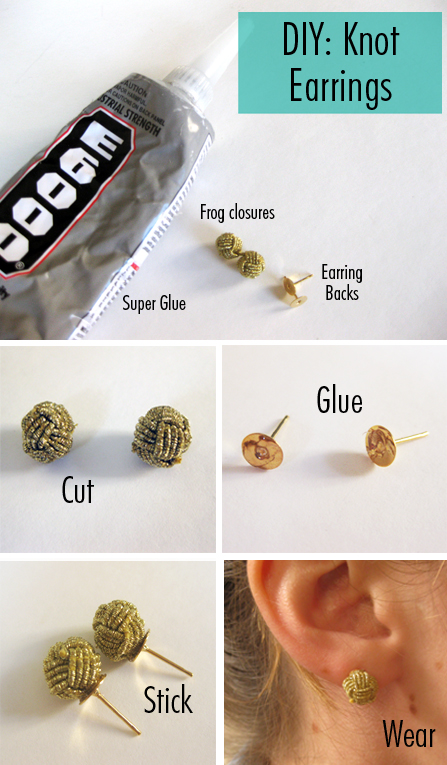 DIY-Knot-Earrings