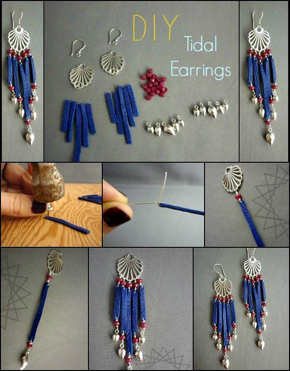 Diy Earrings Tutorials