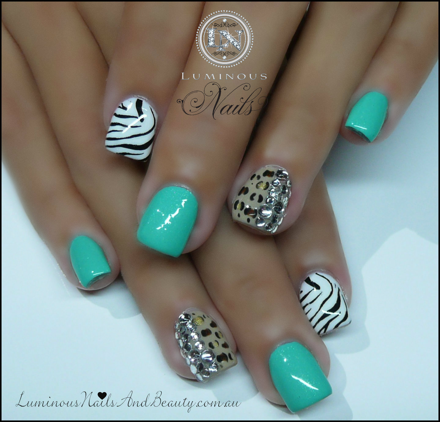 Luminous Nails and Beauty, Gold Coast Queensland. Acrylic Nails Gel Nails,  Sculptured Acrylic - 19 Amazing Gel Nail Designs