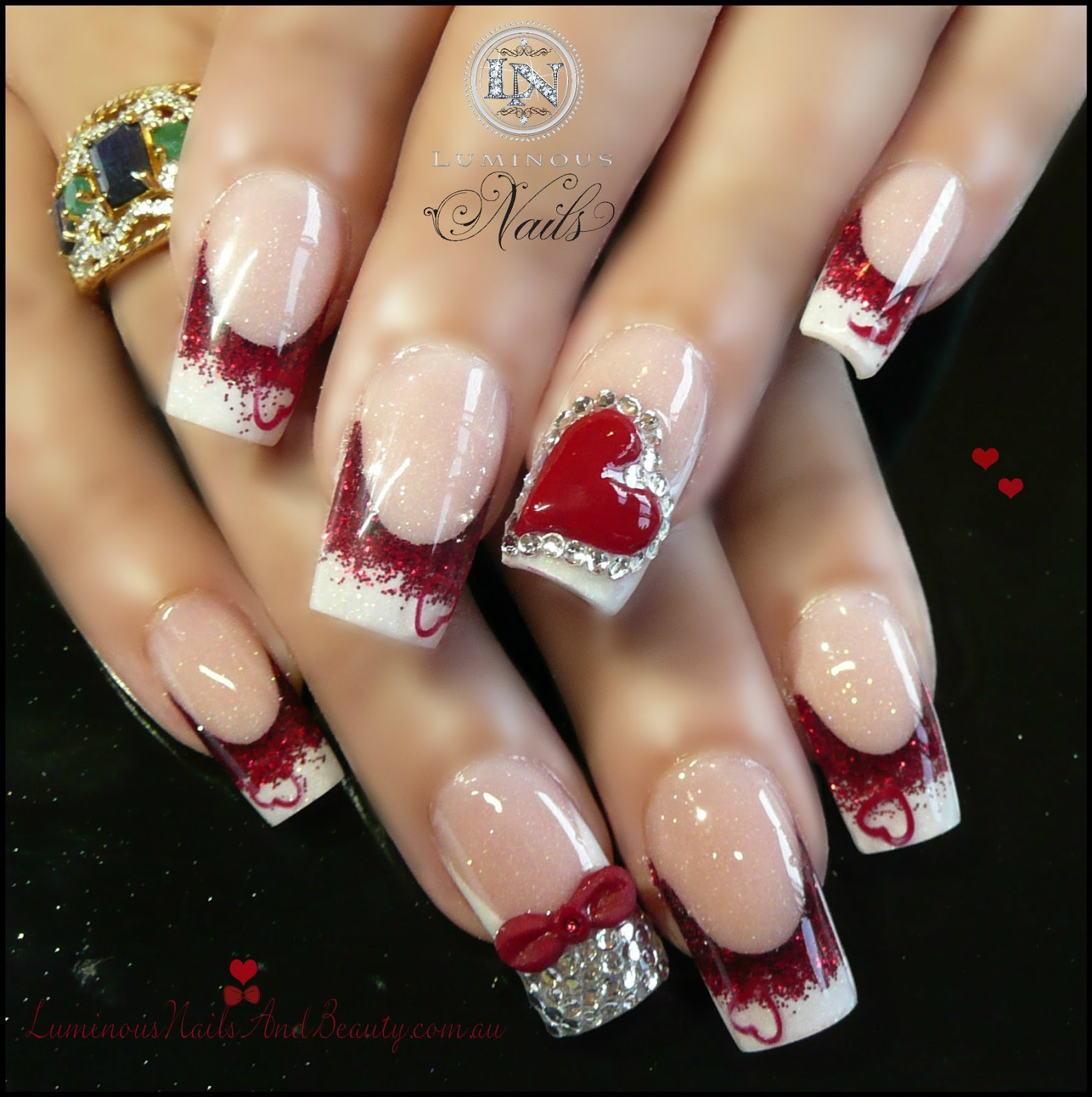 luminous nails and beauty gold coast queensland acrylic nails gel nails sculptured