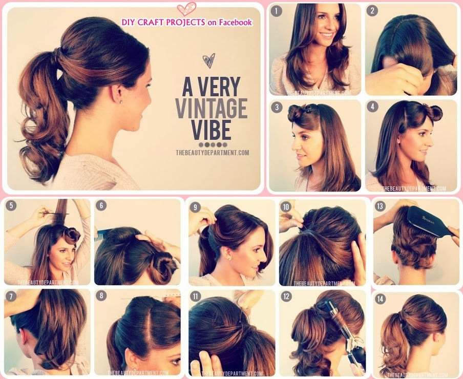 Groovy 15 Cute And Easy Ponytails Short Hairstyles Gunalazisus