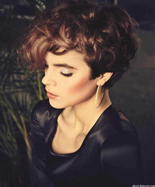 Very-short-curly-hairstyles