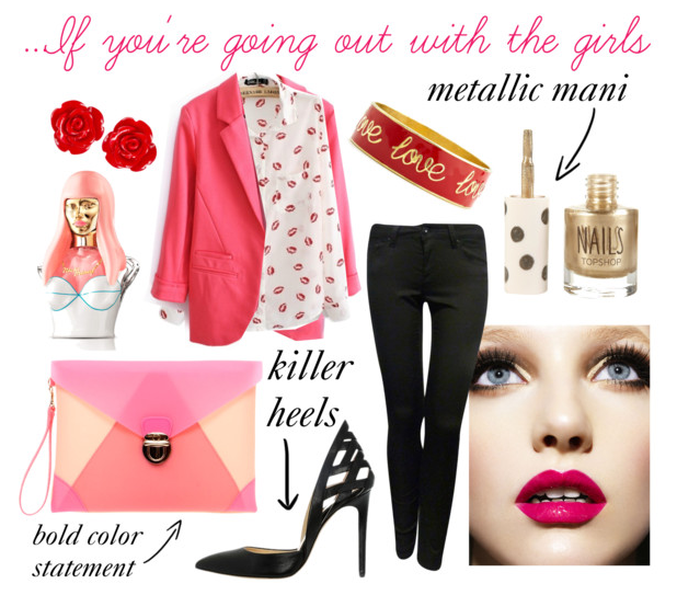 What to wear on Valentine s Day... If you re going out with...   Polyvore