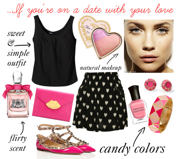 What to wear on Valentine s Day... If you re on a date with...   Polyvore
