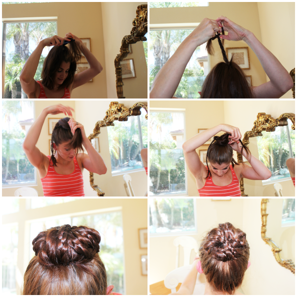 Fabulous Super Easy Knotted Bun Updo And Simple Bun Hairstyle Tutorials Short Hairstyles Gunalazisus