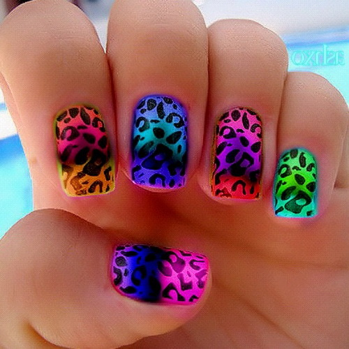 Colorful Nail Designs Acrylic Nails Tumblr Colorful Nail Designs Nail