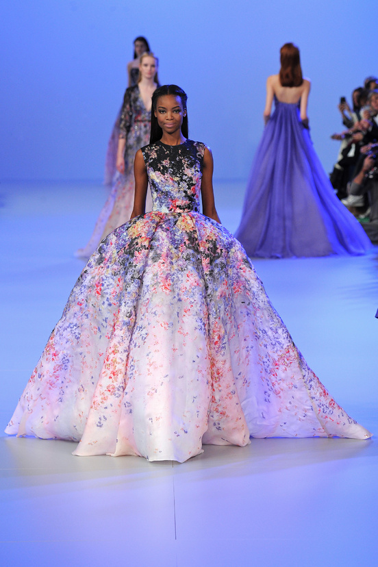 Elie Saab Paris Haute Couture Fashion Week Spring 2014