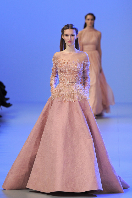 Elie saab paris haute couture fashion week spring 2014 for A s style couture
