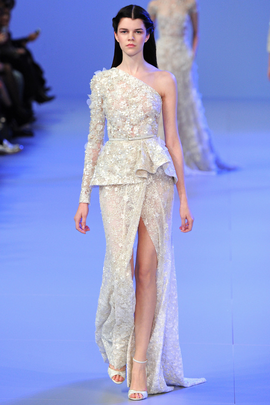 Elie saab paris haute couture fashion week spring 2014 for How to become a haute couture designer