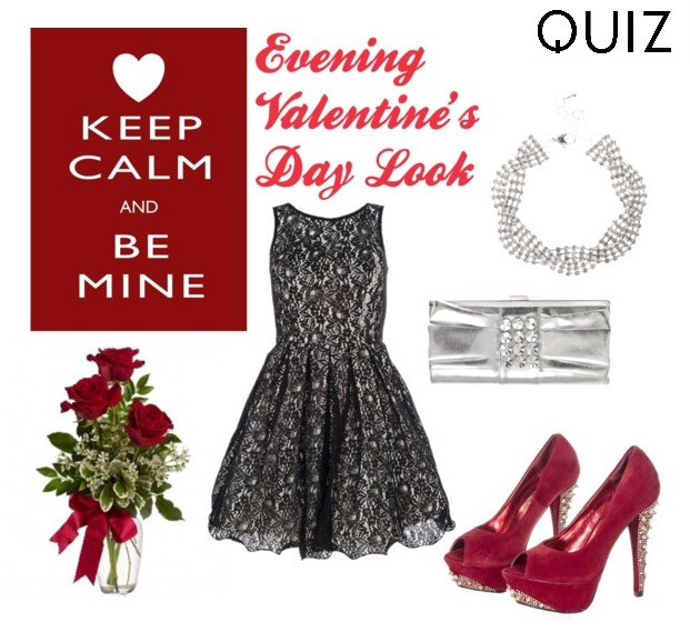 evening valentine's day look quiz clothing outfit polyvore collage