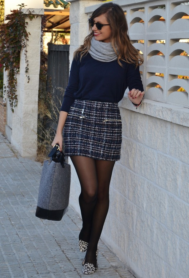 21 Winter Combinations With Skirts